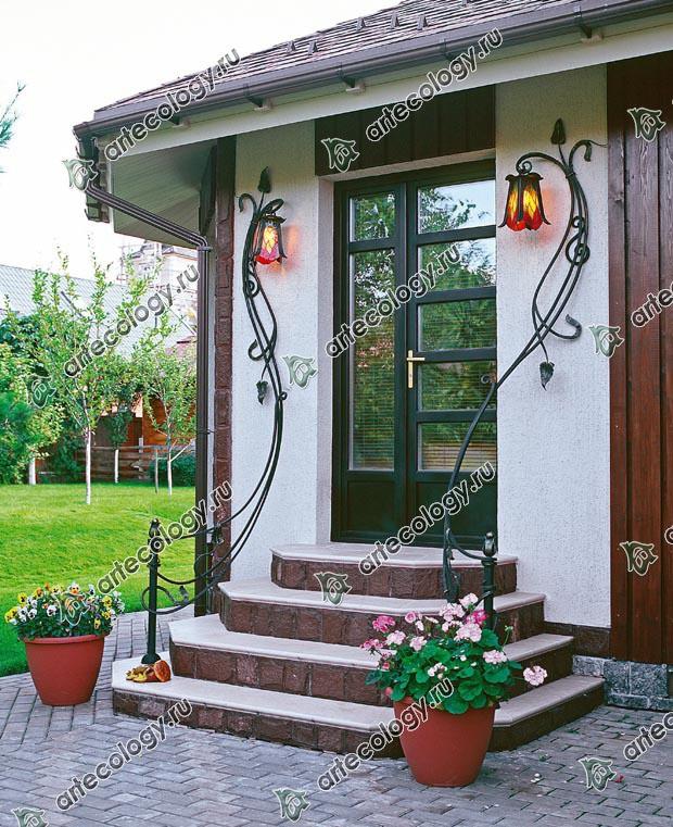 Светильники фасадные настенные для балкона.